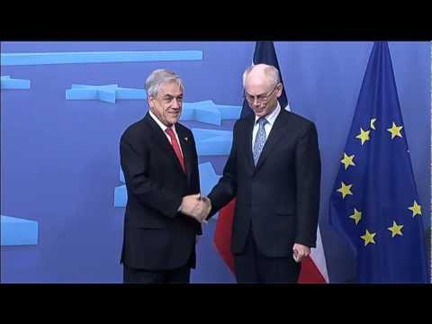 Meeting with the President of Chile, Sebastian PIÑERA