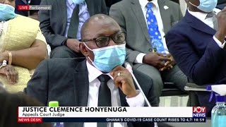 Live: Vetting of Supreme Court Judges - News Desk on Joy News (11-5-20)