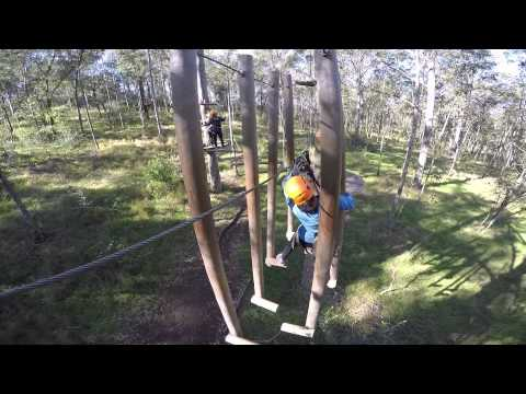 Tree Top Adventure Park - Advanced course - June 2015