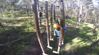 Tree Top Adventure Park - Advanced course - June 2015