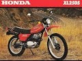Honda XL250s vintage off road in beautiful Hampshire