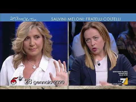 Salvini-Meloni: fratelli coltelli