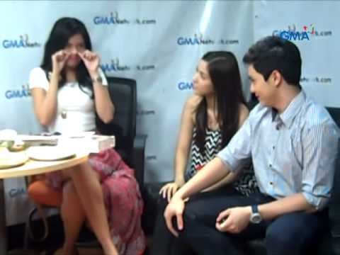 Live Chat: Alden, Louise And Lauren Re-enact A Scene From 'Mundo Mo'y Akin'