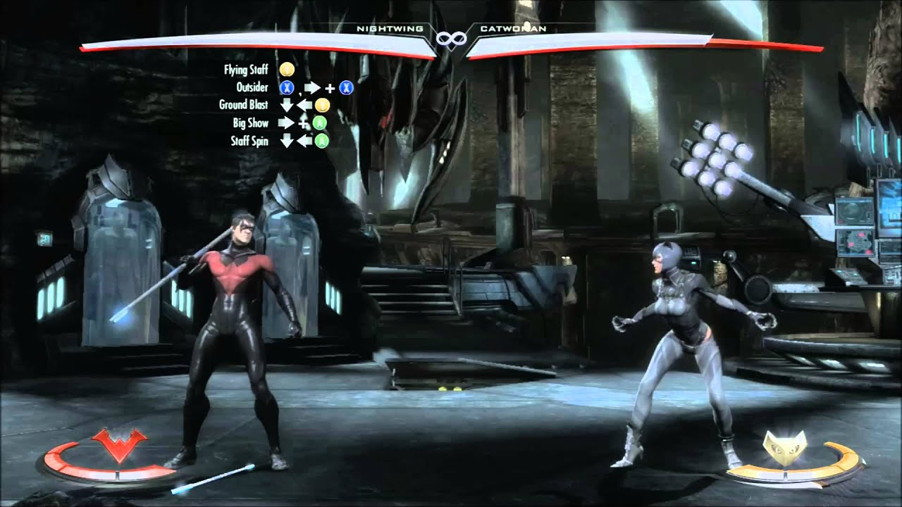 injustice how to play nightwing