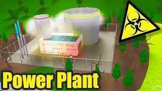 Nuclear Power Plant! Roblox - BloxBurg (125k)