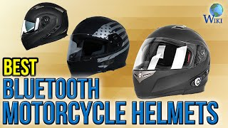 8 Best Bluetooth Motorcycle Helmets 2017