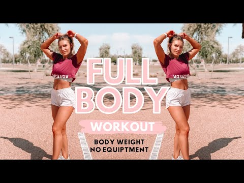 Full Body Workout | Real Time, Beginner Friendly, Outdoor Workout!