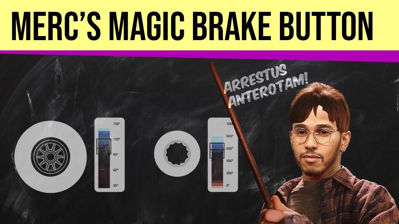 Mercedes' Magic Button and how it ruined Hamilton's race #F1 #AzerbaijanGP