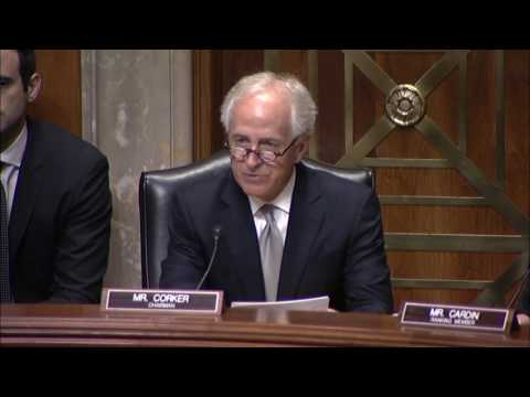 Corker Statement at Hearing on Congressional Authorizations for the Use of Military Force