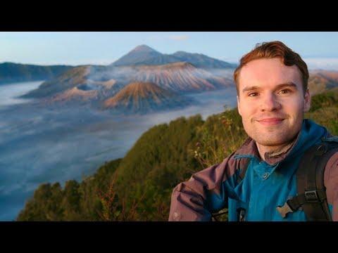 INSIDE MOUNT BROMO (ACTIVE VOLCANO) IN EAST JAVA, INDONESIA 🇮🇩