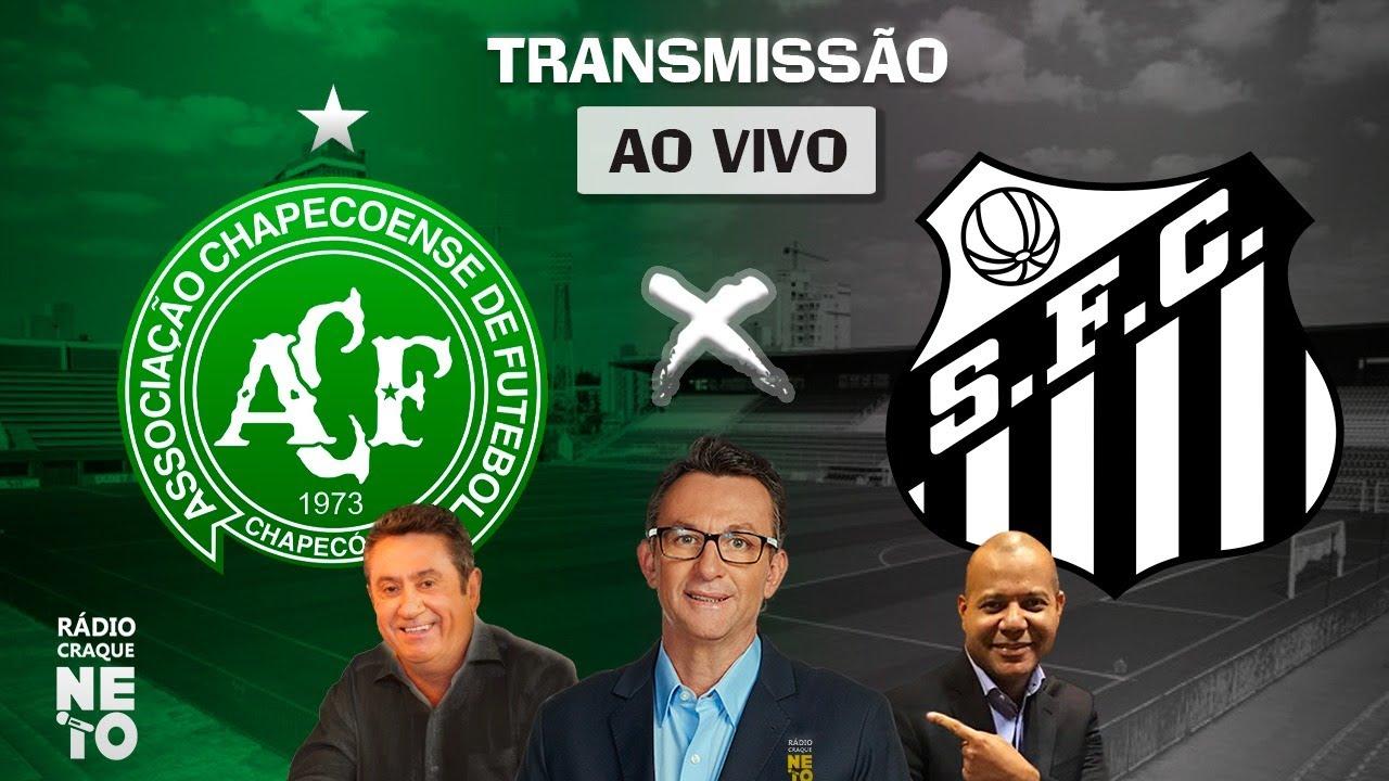 Chapecoense x Santos | AO VIVO | Campeonato Brasileiro 2021 | Rádio Craque Neto