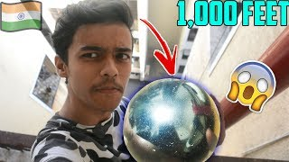 WE Made the WORLD'S LARGEST Aluminium Foil Ball in INDIA...
