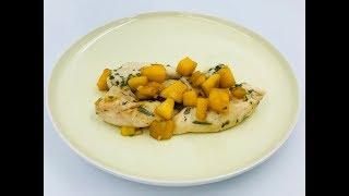 Куриное филе в соусе из манго | Рецепт из куриной грудки с манго