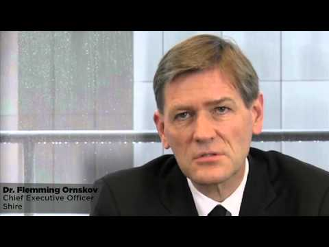 Shire CEO Flemming Ornskov, MD - YouTube