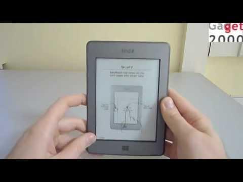 Amazon Kindle Touch - видеообзор