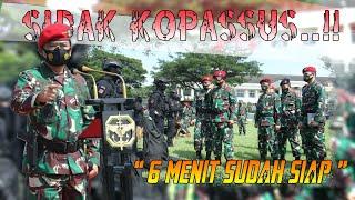 Sidak Pangllima TNI ke Kopassus, Tak butuh waktu lama untuk berkumpul
