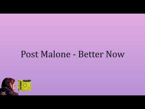 포스트 말론 (Post Malone) - Better Now (한국어 가사/해석/자막)