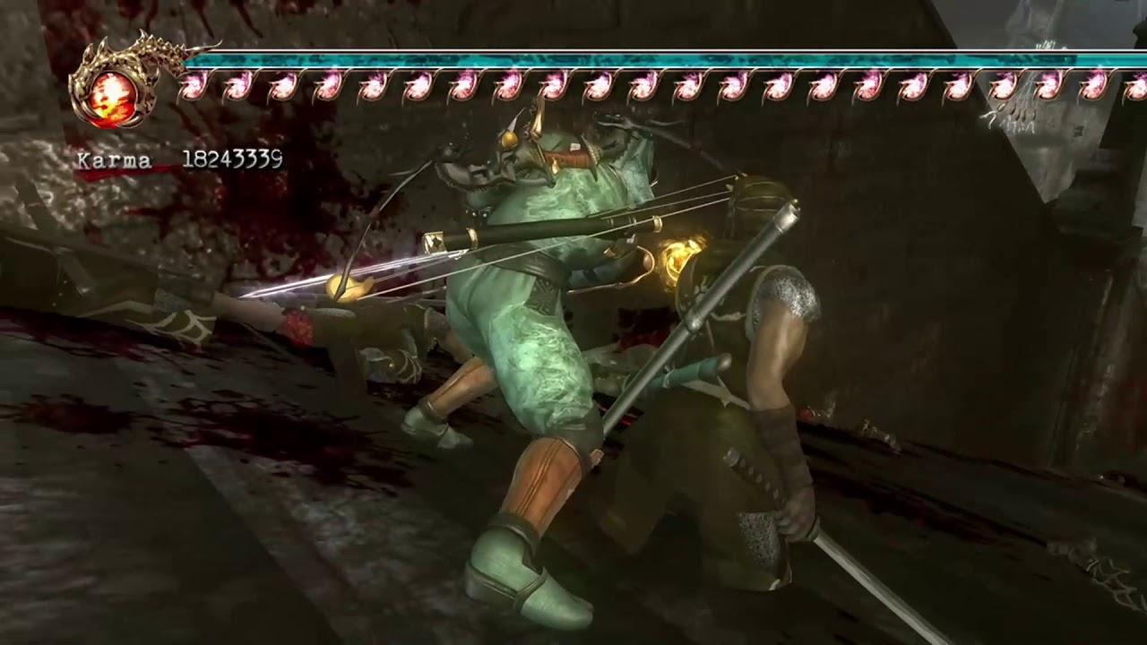 Ninja Gaiden 2 Xbox 360 Cheats Pasillo Cap 10 Espada Del Dragon Youtube