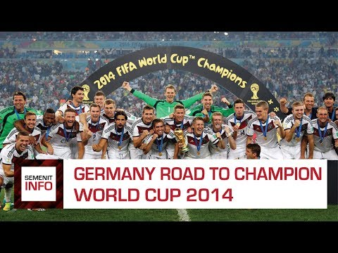 GERMANY ROAD TO CHAMPION. FROM GROUP STAGE - FINAL WORLD CUP 2014