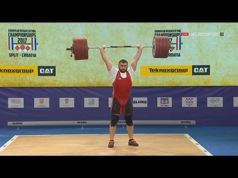 2017 European Weightlifting Championships Men 105 kg \ Тяжелая атлетика Чемпионат Европы [1080]