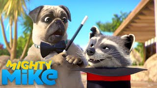 Pug Does Magic Tricks! | Mighty Mike | Universal Kids