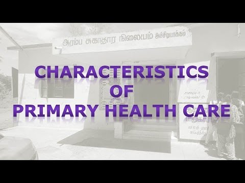 Characteristics of Primary Health Care