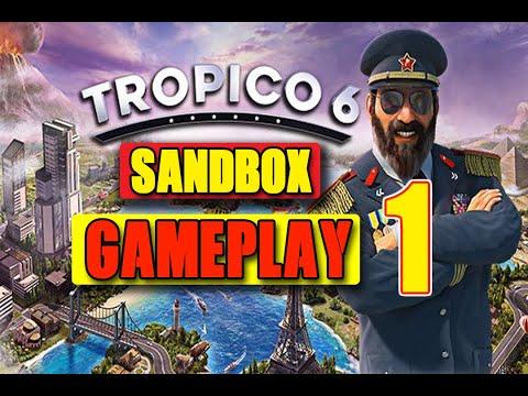 TROPICO 6 BETA SANDBOX GAMEPLAY (PART 1) |