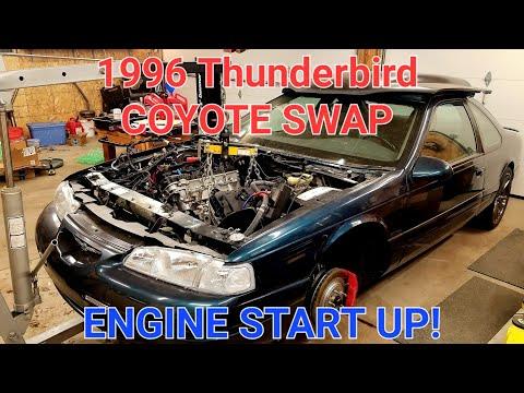 1996 Thunderbird 5 0 Coyote Swap Start Up Youtube
