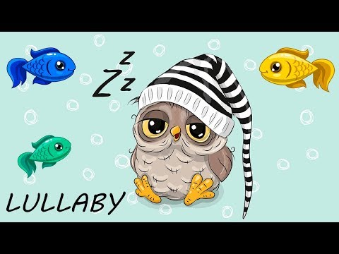 Baby Lullaby and Calming Aquarium 24/7 ❤🎵  Sleep Music for Babies