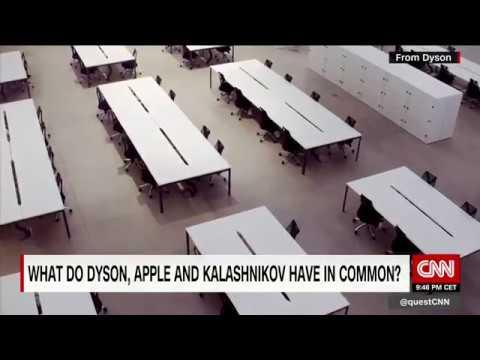 Kalashnikov, Dyson and Apple Mp3