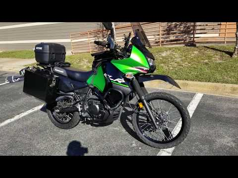 KLR 650 5 thousand mile review and farkles