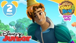 Goldie & Bear And The Magic Map | Is Prince Charming? | Disney Junior UK