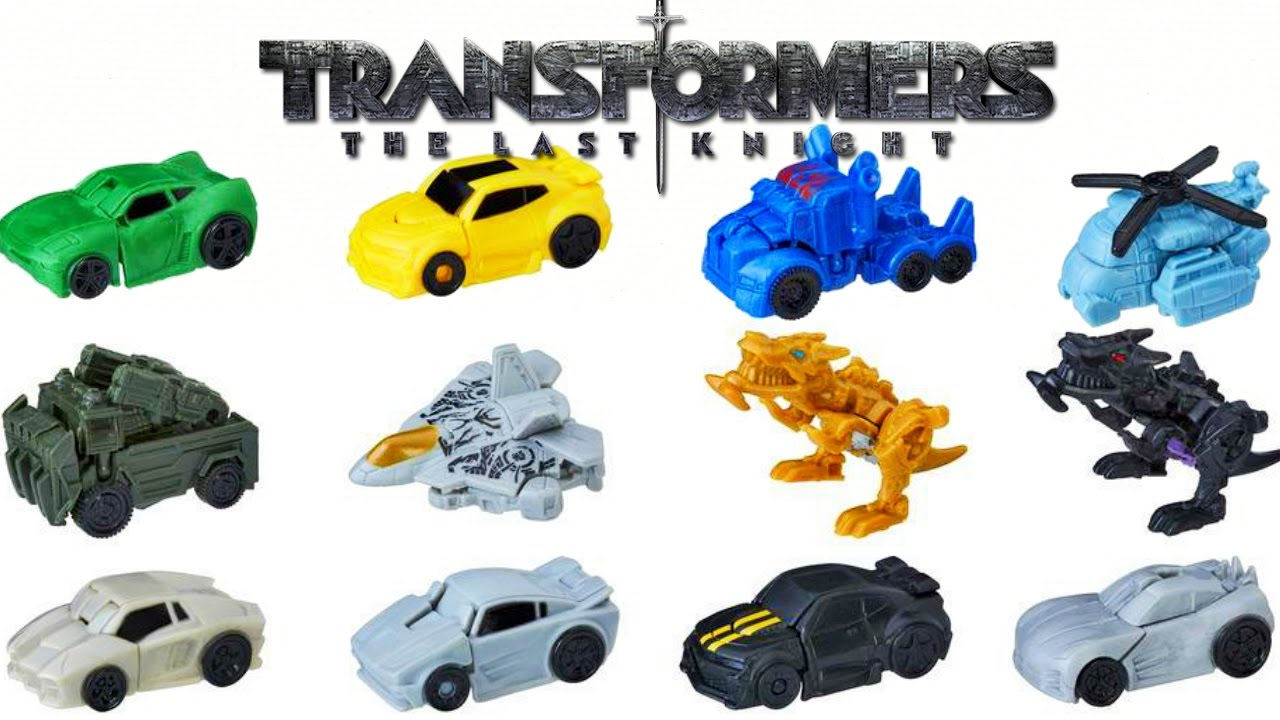 Transformers The Last Knight Tiny Turbo Changers Full