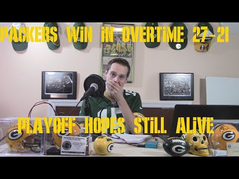 PACKERS PULL OFF A MIRACLE AND BEAT THE BROWNS 27-21 IN OVERTIME REACTION & ANALYSIS