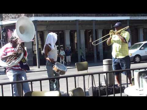 Street Jazz @Cafe Du Monde, New Orleans (Tuesday 14 September, 2010)