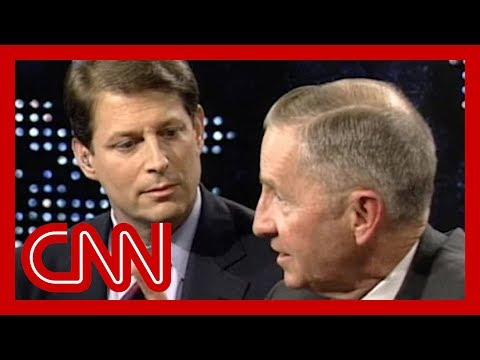 1993 NAFTA debate: Al Gore vs Ross Perot (Full debate - CNN