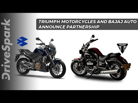 Triumph Motorcycles And Bajaj Auto Announce Partnership - DriveSpark