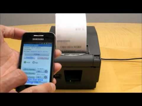wireless receipt printer