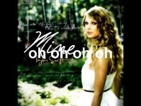 Taylor Swift - Mine w/Lyrics + MP3 DOWNLOAD