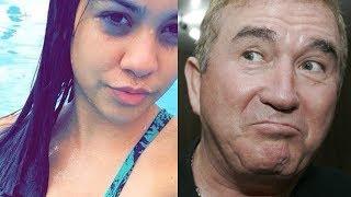 Conheça Layza, a namorada de 19 anos que Amado Batista arrumou aos 67