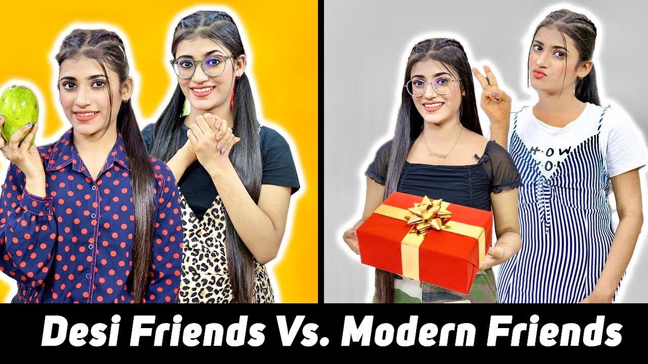 Modern Friends Vs. Desi Friends   SAMREEN ALI