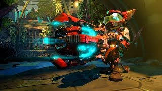 Ratchet & Clank PS4 New Gameplay 2015 E3 (1080p)