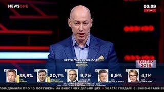 Гордон: Хочу, чтобы Зеленский, Тимошенко, Гриценко, Смешко объединились и не дали Порошенко победить
