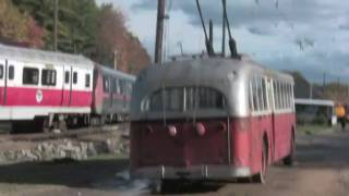 Vintage Trolley Bus/Trackless Trolley Parade