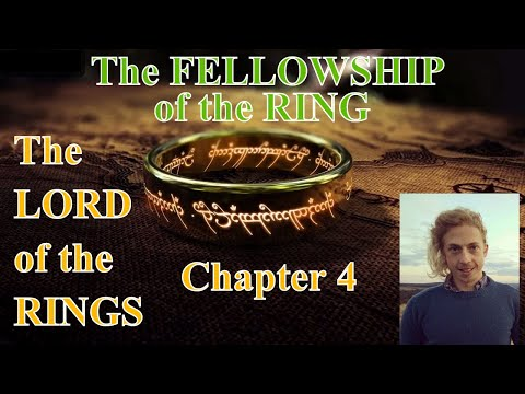 The Lord of the Rings [ AUDIOBOOK ] The Fellowship of the Ring #4 * relax asmr sleep *