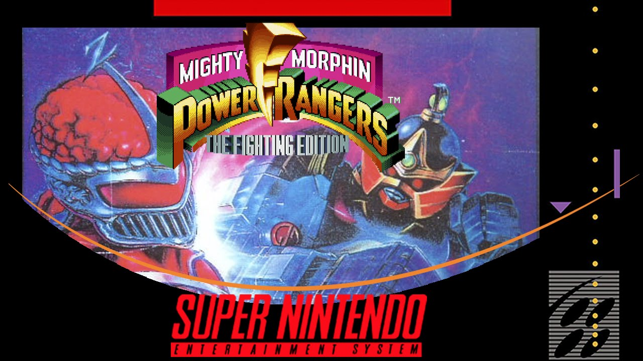 Mighty Morphin Power Rangers: The Fighting Edition  (Power Rangers The Fighting Edition )