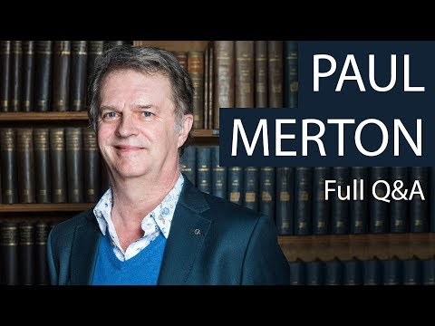Paul Merton  Full Q&A at The Oxford Union