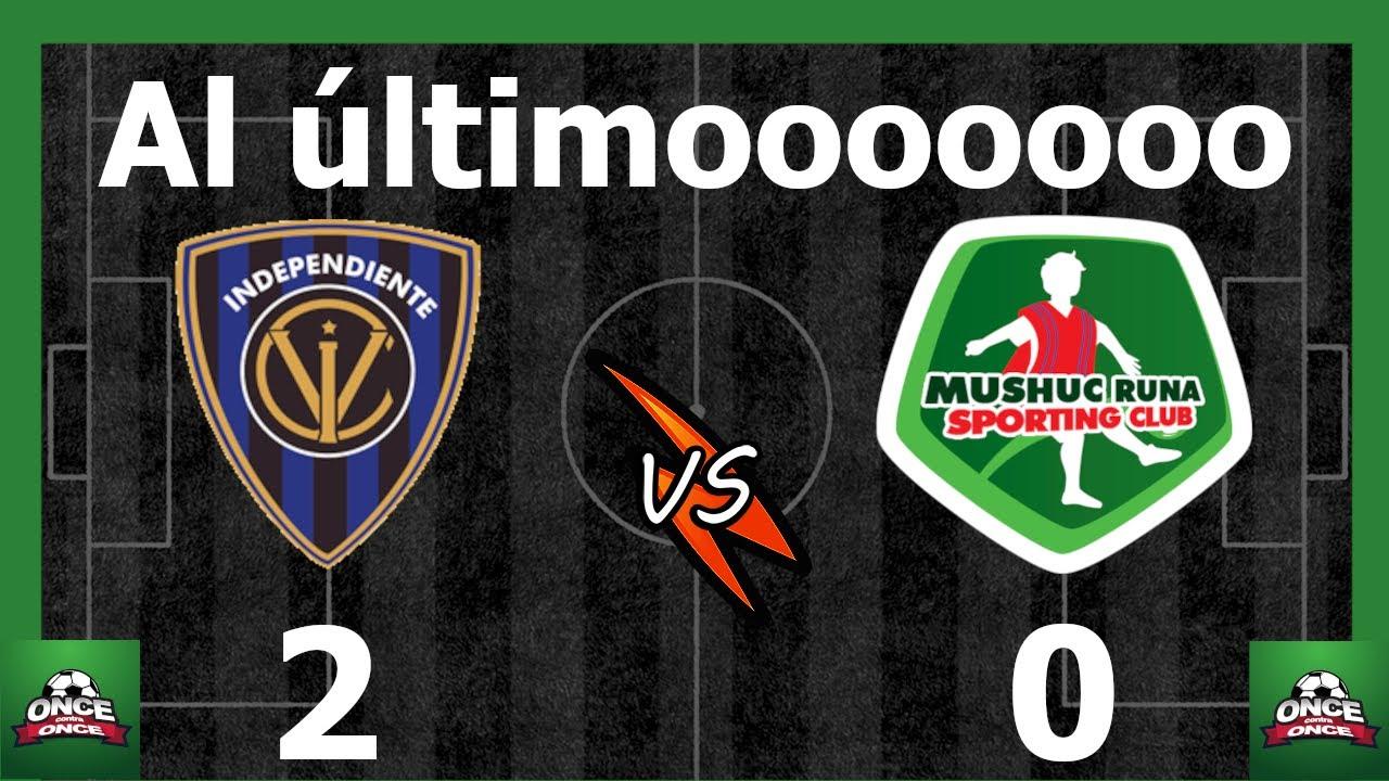 🚨 IDV 2 Mushuc Runa 0 ⚽ Fecha 03 ⚽ Liga Pro
