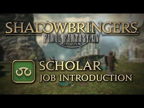 FFXIV: Shadowbringers Scholar Job Introduction