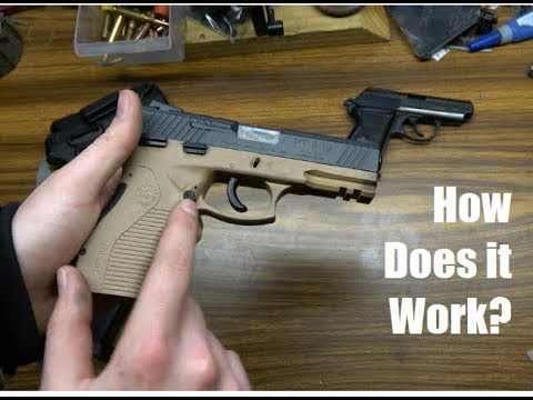 Anatomy of the Taurus PT809: How it Works (John Browning Pistol Action)